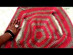 Bolero Croche Infantil parte 1 -Crochet Bolero very easy - Ganchillo Bolero - YouTube