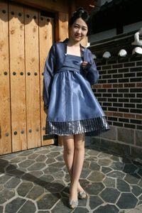 reformed hanbok dress