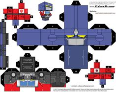 Cubee - Optimus Prime 'Energon' by CyberDrone.deviantart.com on @deviantART