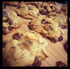 10 Secrets to Fantastic Chocolate Chip Cookies. Garbanzo Bean Flour instead of regular flour, Add Oatmeal, Reduce Sugar, Cinnamon, 1-2 Tbsp of Ground Coffee, Melt Your Butter, Double the Vanilla Extract, Add a Splash of Almond Extract, Forget Walnuts, Try Almonds or Pecans, Use High Quality Dark Chocolate Chips.