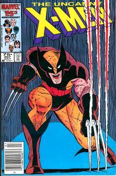 The Uncanny X-Men #207 (Jul '86) cover by John Romita Jr. & Dan Green. #Wolverine