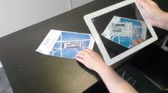 Exemple de réalité augmentée sur un programme immobilier neuf