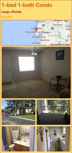 1-bed 1-bath Condo in Largo, Florida ►$39,900 #PropertyForSale #RealEstate #Florida http://florida-magic.com/properties/74726-condo-for-sale-in-largo-florida-with-1-bedroom-1-bathroom