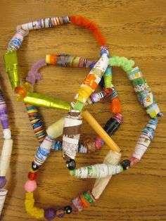 The Lake Forest Louvre: Fifth Grade TRADE BEADS!