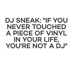 Dj Sneak lo sabe. #Realdjs #Turntablism #Vinyl by argonbeats http://ift.tt/1HNGVsC