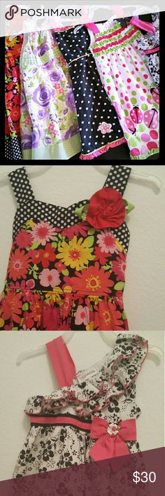 5 different dresses size 5T Rare Too, blueberrie,  Youngland multiple Dresses Casual