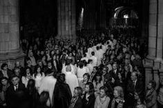 Semana Santa in Braga, Portugal: Good Friday in B/W squares