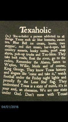 Texaholic Shirt! :)