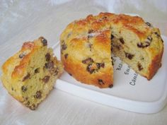 Kwarkbol - voor de brunch of als gezond tussendoortje. Makkelijk te maken. Pastry Recipes, Baking Recipes, Cake Recipes, Baking Bad, Bread Baking, Healthy Sweets, Healthy Baking, Tapas, Sweet Bakery