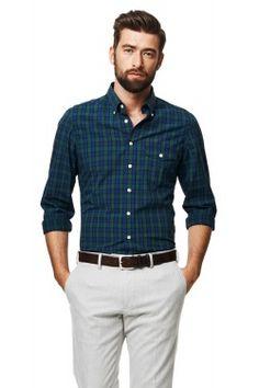 Big & Tall Arrow Hamilton Regular-Fit Button-Down Shirt, Men's, Size: Xl Tall, Dark Red Smart Casual, Work Casual, Men Casual, Casual Styles, Business Attire For Men, Business Casual, Button Downs, Button Down Shirt, Man Office