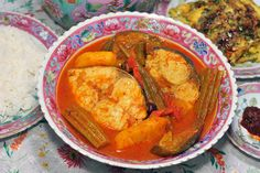Ikan Gerang Asam is one of my favorite Peranakan dishes. It is also amongst the first nyonya dishes that I'd learnt to cook and experimented with. The intermingling of tang and heat often calls for...