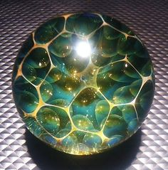 Handmade Marble by Jason Holley Borosilicate Boro Art   eBay