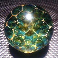 Handmade Marble by Jason Holley Borosilicate Boro Art | eBay