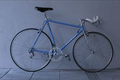 Rare Chesini TT bike with crimped down and top tubes