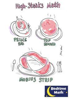 High-Steaks Math!  #Math #Joke #Funny
