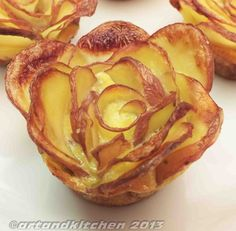 baked potatoes roses