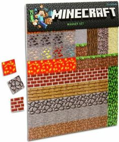 Noah. Minecraft Magnet Set 160pcs: Amazon.co.uk: Toys & Games
