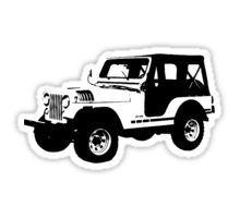 'Teen Wolf - Stiles' Jeep' Sticker by Stiles Teen Wolf, Stiles Jeep, Jeep Stickers, Laptop Stickers, Planner Stickers, Teen Wolf Tattoo, Maze Runner 2014, Meninos Teen Wolf, Wolf Design