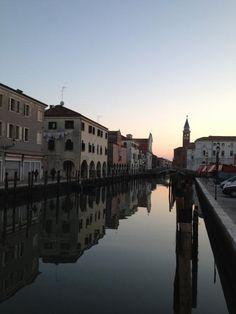 La città di Chioggia.