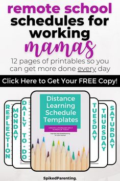 Distance learning is new to most of us...but it doesn't have to be difficult. All you need is a simple plan to keep everyone on track. This distance learning planner will help you organize your day so your kids succeed and you can get more done. Grab this amazing distance learning printable today!