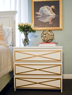 Genius: Premade decorative panels that totally transform your furniture