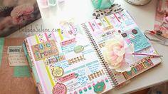 Gorgeous pic from the lovely, Belinda Selene! #eclifeplanner Agenda Planner, Planner Layout, Erin Condren Life Planner, Happy Planner, Planner Ideas, Washi, Midori, Diy Tumblr, Planner Decorating