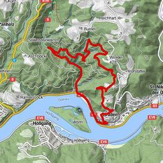 Post Bus, Der Bus, Camping, Map, Travel, Tours, Campsite, Viajes, Location Map