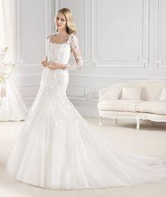 Vestido de novia de La Sposa para el 2015 con manga larga
