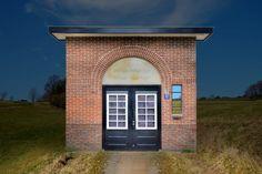 In dit washuisje, gebouwd in 1830 in Alphen aan den Rijn, werden lichamen van overleden Joodse mensen ritueel gewassen als voorbereiding op de begrafenis.