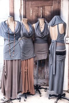 gypsy tudong. hooded cowl versatile tunic. one by RunWithTheTribe, $137.00