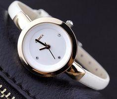 women creative slim strap watch - elegant fashion