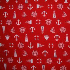 SB Sevenberry Sailing Symbols Red 1/2 METRE