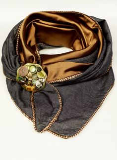 scarf and 'choukka' from Belgian brand Francis & Pi