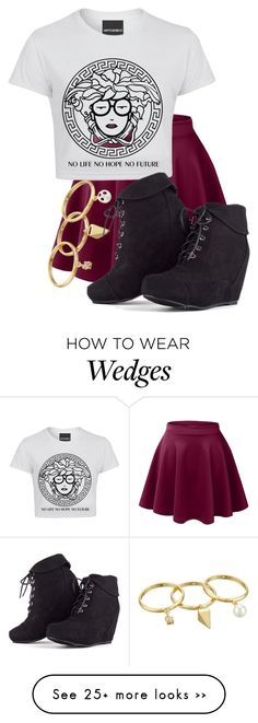 """""""Untitled #677"""" by kiarahcarson on Polyvore featuring LE3NO and Rebecca Minkoff"""