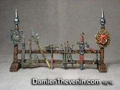 This is probably the very best enhancement of the Heroquest elements (dungeon, furniture, minis) that I have ever seen. Lots of ideas for your dungeon here!