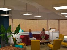 "Winning Interior Design meeting space ""The Loft"" Blinds, My Design, Loft, Lounge, Restaurant, Curtains, Utrecht, Interior Design, Space"