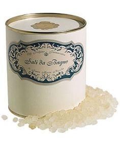 Santa Maria Novella Pomegranate Bath Salts - these are wonderful salts. The whole house is fragrant!