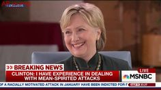 Clinton Laughs At Sanders Claim To Still Be Contesting Nomination