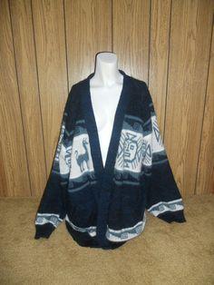SALE     Vintage long sweater cardigan by ATELIERVINTAGESHOP, $30.00