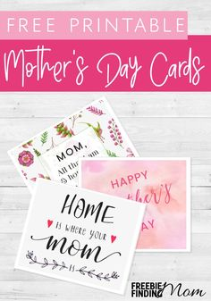Do you want to give mom a special Mother's Day gift without breaking the bank? No problem! These adorable Free Mother's Day Printable Cards are an easy and inexpensive way to tell mom how much you love and adore her. Consider pairing these free Mother's D Birthday Message For Mother, Birthday Quotes For Daughter, Birthday Messages, Mother's Day Printables, Free Printable Cards, Printable Letters, Diy Father's Day Gifts Easy, Mothers Day Crafts, Homemade Gifts