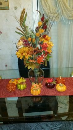 My fall table setting