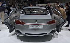 Mercedes-Benz F800 Style previews the next generation Mercedes-Benz CLS.
