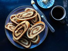 This buttery nut roll pastry roll features a simple yeasted dough twisted around a sweet walnut and sugar paste. Hungarian Nut Roll Recipe, Hungarian Recipes, Slovak Recipes, Hungarian Cuisine, Czech Recipes, German Recipes, Italian Recipes, Ethnic Recipes, Nut Recipes