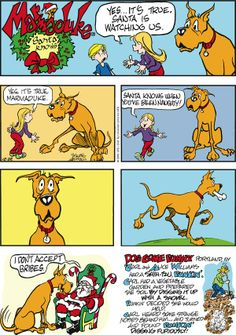 Today on Marmaduke - Comics by Brad Anderson Dog Comics, Cute Comics, Funny Comics, Funny Dogs, Funny Animals, Animal Funnies, Great Dane Dogs, Classic Comics, Funny Cartoons