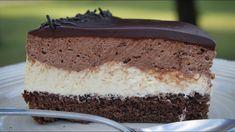 Πάστα Ταψιού (Το γλυκό που ξετρέλανε το διαδίκτυο) - Chocolate Vanilla Cake Greek Desserts, Party Desserts, Greek Recipes, Greek Pastries, Mini Cheesecakes, How Sweet Eats, Chocolate Lovers, Vanilla Cake, Delicious Desserts