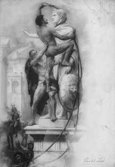 Hannibal's Studies – Patroclus & Achilles Conquering Troy. http://idontfindyouthatinteresting.co.uk/image/125381646210