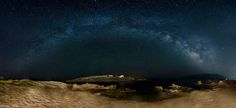The Milky Way from Skyros Island, Greece Arching across the night sky as shown above on this impressive panorama is The Milky Way as observed from Skyros Island, Greece. If it's sufficiently dark The Milky Way can be seen throughout the year, however, it's an easier target to observe when the Sun is on the opposite side of the sky—during the summer months in the Northern Hemisphere. The Milky Way is most luminous (greatest density of stars) in the direction of the Galactic Center, at far…