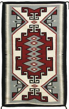 Navajo Rug, Native American Vintage Navajo Rug/Weaving, ca 1960's #498