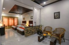 Nature Heritage Resort Bandhavgarh National Park, 3 Star Hotel in Bandhavgarh, Luxury Resort in Bandhavgarh, Book your stay at a good price. National Parks, Luxury, Nature, Room, Furniture, Home Decor, Bedroom, Rooms, Interior Design