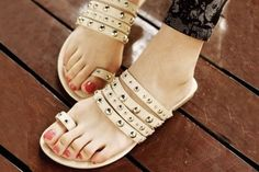 ee95d3f7777 Studded Flats A pretty pick to add a glam quotient to your feminine outfit  at INR